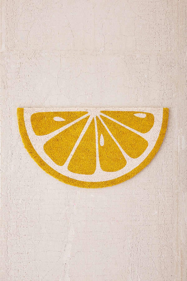 Sunnylife Lemon Doormat