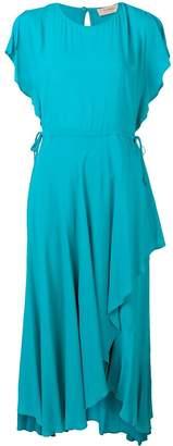 Twin-Set loose fit asymmetric dress