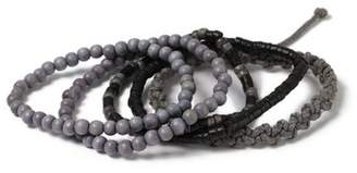 Topman Mens Grey Gray Bracelet Pack*