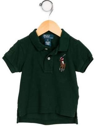 Polo Ralph Lauren Infant Boys' Short Sleeve Polo Shirt