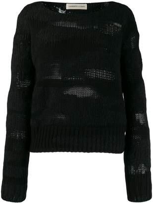 Lamberto Losani long-sleeve fitted sweater