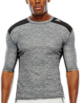 adidas Techfit Short-Sleeve Compression Shirt