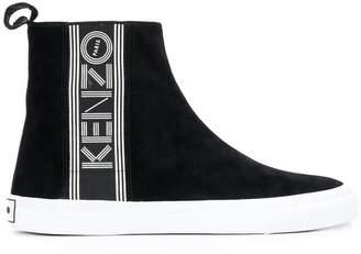 Kenzo logo high-tops
