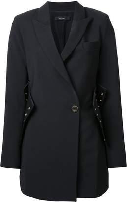 Ellery corset detail coat