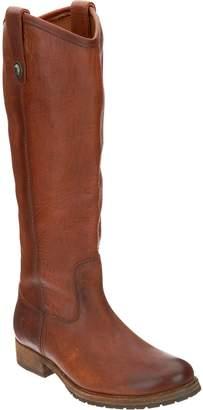 Frye Leather Tall Shaft Pull On Boots - Melissa Lug