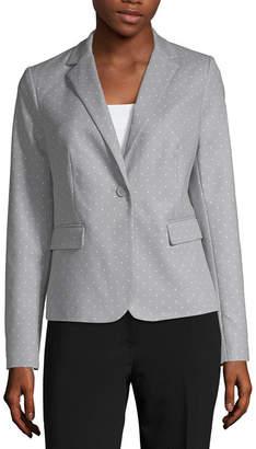 Liz Claiborne Double Cotton Blazer