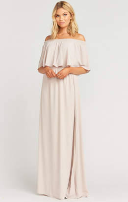 Show Me Your Mumu Hacienda Maxi Dress ~ Show Me the Ring Crisp