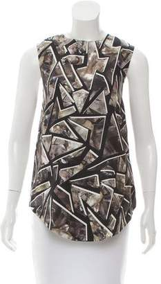 Wayne Sleeveless Printed Top