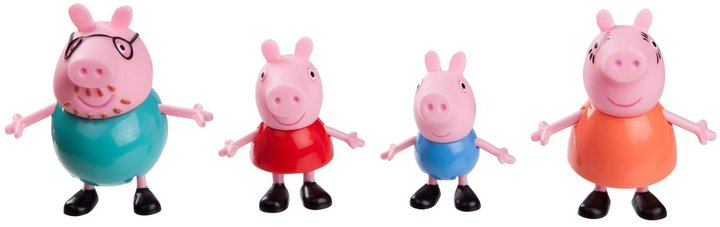 """Peppa Pig 3"""" and Family Pack Toy Figure"""