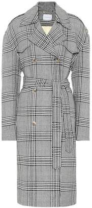 Magda Butrym Checked wool coat