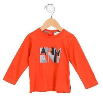 Armani Junior Boys' Graphic Print Shirt