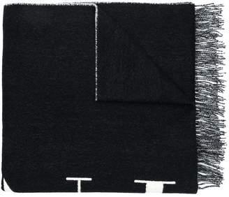Valentino VLTN knitted scarf