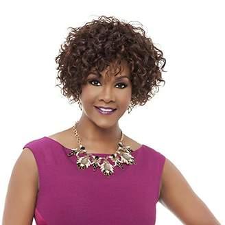 Vivica A Fox HH-Whitney Premium Human Hair Pure Stretch Cap Wig