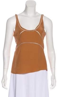 Vena Cava Silk Sleeveless Top w/ Tags