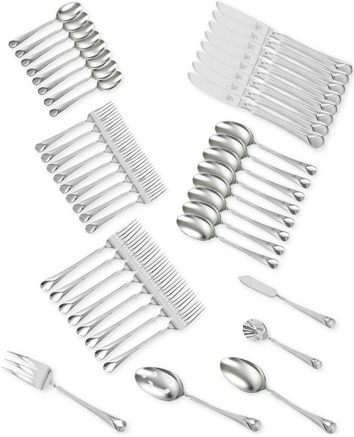 Zwilling J.A. Henckels TWIN® Brand Provence 18/10 Stainless Steel 45-Pc. Flatware Set, Service for 8