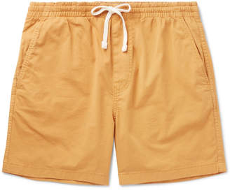 J.Crew Stretch-Cotton Drawstring Shorts