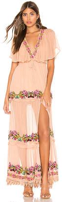 Tularosa Coraline Embroidered Dress