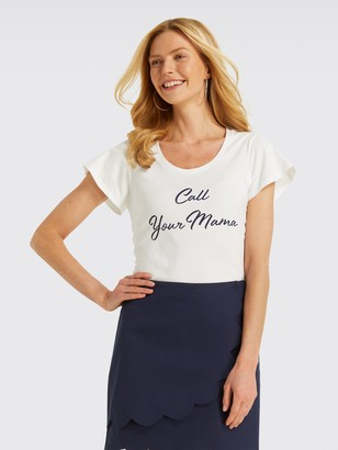 Draper James Call Your Mama Tee