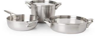 Calphalon 5-Piece Space Saving Supper Club Cookware Set