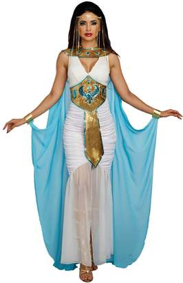 Dreamgirl Queen Of De Nile Gown Egyptian Cleopatra Deluxe Women's Costume SM-XL