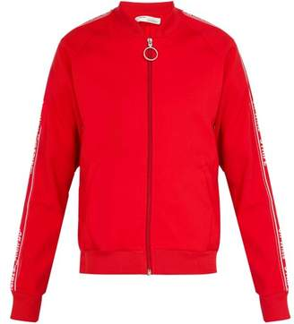 Off-white - Taped Sleeve Track Jacket - Mens - Red