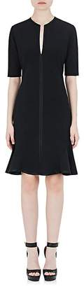 Givenchy Women's Tech-Jersey Peplum-Hem Dress
