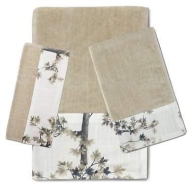 Dean Fingertip Towel in White