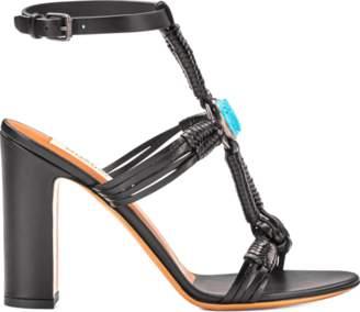 Valentino Scarab Ankle Strap Sandal