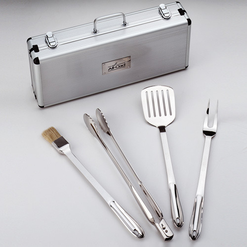 All-Clad BBQ Set in Carrying Case