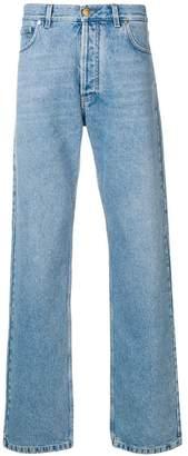 Versace team logo jeans