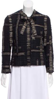 Chanel Metallic Tweed Jacket