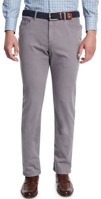 Peter Millar Alpine Five-Pocket Twill Pants $198 thestylecure.com