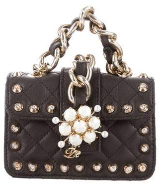 DSQUARED2 Niagara Studded Quilted Bag