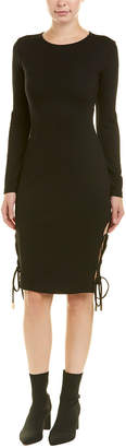 Finders Keepers Finders Lace-Up Sheath Dress