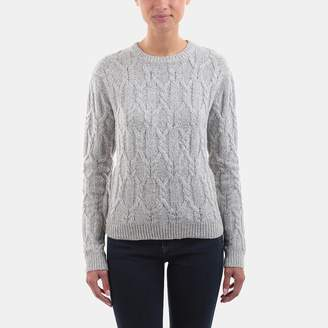 Line Skylar Braided Stitch Cable Crewneck Sweater