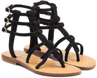 Mystique Suede Sandals