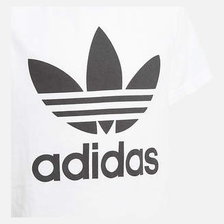 adidas Boys' Trefoil Allover Print T-Shirt