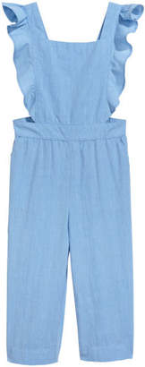 H&M Jumpsuit with Flounces - Blue