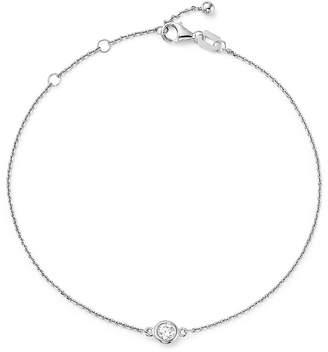 Bloomingdale's Diamond Bezel Set Bracelet in 14K White Gold, .15 ct. t.w. - 100% Exclusive