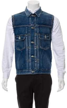 Visvim Cut Off Denim Vest