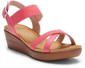 Elegant Footwear Gasina Wedge Sandal