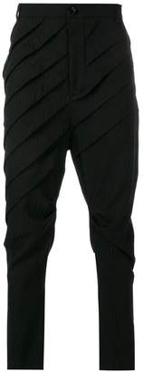 Alchemy pleated trousers
