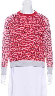 Allude Cashmere Intarsia Sweater