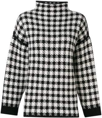 Dagmar Helena checked sweater