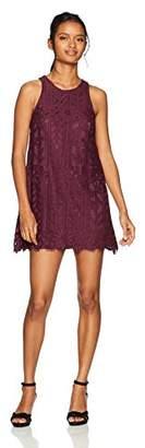 Speechless Lace Tank Dress (Junior's),S