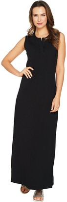 Denim & Co. Petite Sleeveless Perfect Jersey Maxi Dress