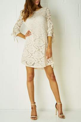 frontrow Nude Lace Dress