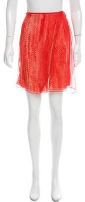 Reed Krakoff Printed Wrap Skirt