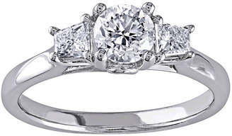 JCPenney MODERN BRIDE 1 CT. T.W. Diamond 14K White Gold 3-Stone Ring