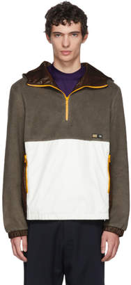 Lanvin Grey Zip-Up Jacket